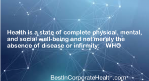 Health vs. wellness wellness programs Best in corporate health