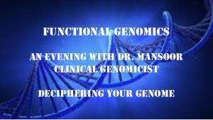 Functional Genomics Best In Corporate Health